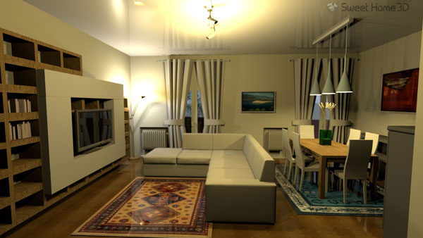 Sweet home 3d for Interieur design software